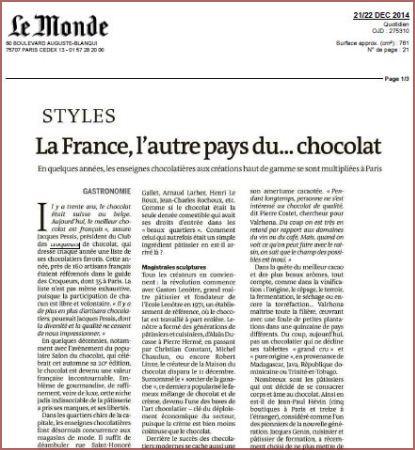 Le Monde_La France l'autre pays du chocolat_415x450