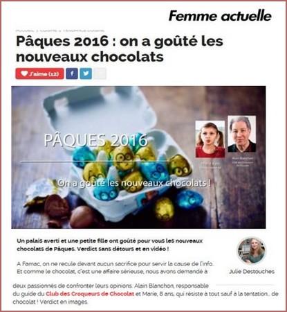 Pâques 2016 on a goûté les nouveaux chocolats-415x450